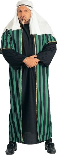 """"""">This versatile costume can be used for Arabian Nights Lawrence of Arabia Persian Wise Men Shepherds etc. ><br"""" /> """">It includes head-dress  robe with attached over-robe.  <a """"Sizing Chart"""" href=""""http://www.costumedirect.com.au/sizing.html"""" target=""""_blank"""">Click here for Sizing Chart</a>"""
