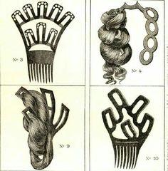 1870s hair tools