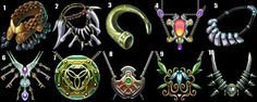 Necklaces Icon Set by Caetis