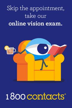 the appointment Skip the appointment, take our online vision exam.Skip the appointment, take our online vision exam. Health And Beauty, Health And Wellness, Health Tips, Health Fitness, Just In Case, Just For You, Yoga Training, Vision Eye, Baking Soda Shampoo