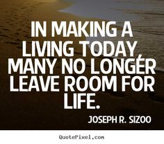 Leave room for life Brain Food, Life Lessons, Life Quotes, Knowledge, Sayings, Live, Words, Room, Quote Life