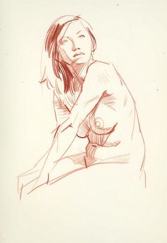 More figure drawing from David Longo.