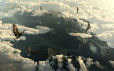 The Hobbit: The Desolation of Smaug with A Journey Through Middle-earth (the intro page - background image)