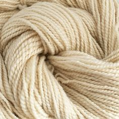Handspun Bluefaced Leicester and Silk Natural Undyed by Artyfibres