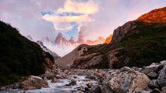 Sunrise in Patagonia [OC] [5312x2988]