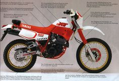 XT 600 Yamaha - (80's version)