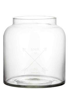 Jarra grande de vidro | H&M