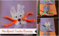 Adorable Easter (or anytime) Bunny craft idea.