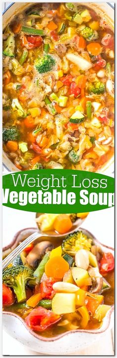 Could You Eat Pizza With Sort Two Diabetic Issues? Weight Loss Vegetable Soup - Trying To Shed Some Pounds Or Get Healthier? Attempt This Easy, Flavorful Soup That's Ready In 30 Minutes And Loaded With Veggies Very Filling And Hearty Zero Ww Smart Points Weight Loss Soup, Weight Loss Meals, Weight Watchers Meals, Weight Loss Tips, Diet Recipes, Vegetarian Recipes, Cooking Recipes, Healthy Recipes, Diet Tips