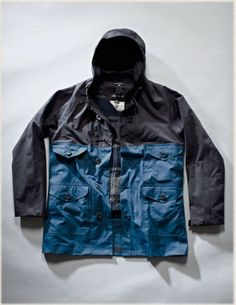 Nigel Cabourn CAMERAMAN SEALED WITH DETACHABLE VEST jacket