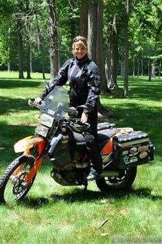 Touring  Adventure: Go Big! Dreaming of a world wide moto trip someday! I think it might be a must do on a BMW dual sport!