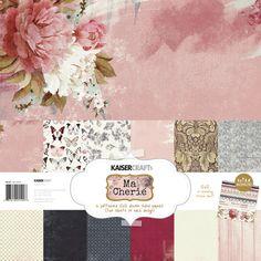 Ma Cherie Paper Pack with Bonus Sticker Sheet