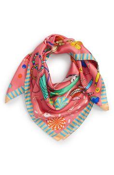 Karen Mabon silk scarf