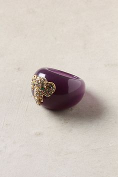 must. have. now.  Bedecked Creature Ring - Anthropologie.com $32.00