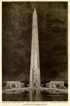 Design for a National Memorial, New York City