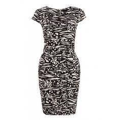 Quiz Ladies Black and White Zebra Bodycon Dress - Black   Buy Online in South Africa   takealot.com Black Bodycon Dress, Dress Black, White Zebra, South Africa, Black And White, Formal Dresses, Lady, Stuff To Buy, Fashion