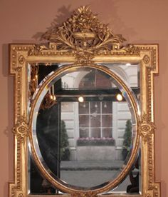 Luxury Large Vintage Style Mirror