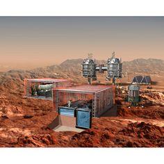 base on Mars