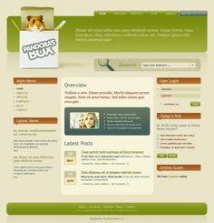 Joomla Web Design Template.