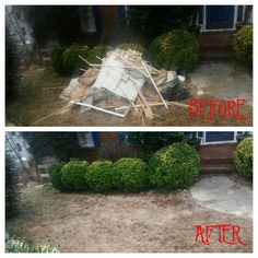 Home renovations can be exhausting but it doesn't have to be all bad! When all is said and done give us a call to take care of the mess. Leaving you with nothing to do but relax and admire your work! Book an appointment with us today!#junk #junkremoval #renovations #onlinemarketing #beforeandafterpics #greatservice #bookonline #diy