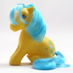 My Little Pony Bubbles Vintage 1980s Toy G1 by cuteandfunnykids
