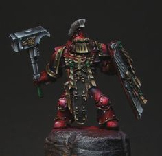 Pre-Heresy Space Marine by loler at the Brush Brothers
