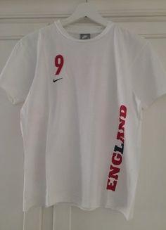 Kaufe meinen Artikel bei #Mamikreisel http://www.mamikreisel.de/kleidung-fur-jungs/kurzarmelige-t-shirts/35545910-england-shirt-9-wayne-rooney-von-nike