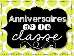 French décor signs (equipes, anniversaries, etc. French Teaching Resources, Teaching French, Teaching Ideas, Too Cool For School, Back To School, Thing 1, Class Decoration, Classroom Setting, New School Year