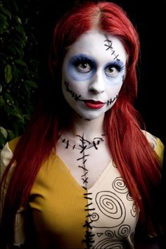 Sally from The Nightmare Before Christmas - I like how she has a dress underneath with stitching