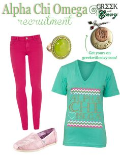 Alpha Chi Omega - Recruitment!