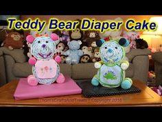 How to make a diaper baby - Sleeping Baby Girl (Diaper Cake) - YouTube
