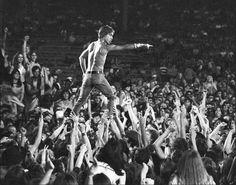 Игги Поп на фестивале в Цинциннати, 1970 год.