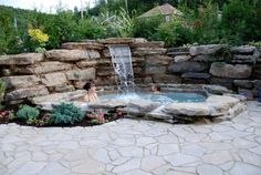 Ontario's Custom Design Fence & Deck - Forans Fence & Decks serves Home Owners, Builders and Developers in London since Hot Tub Backyard, Small Backyard Pools, Small Pools, Swimming Pools Backyard, Backyard Patio, Small Yard Landscaping, Backyard Pool Designs, Inground Hot Tub, Jacuzzi