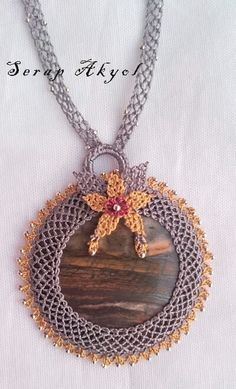 #kolye#needlelace #iğne#iğneoyası#takı