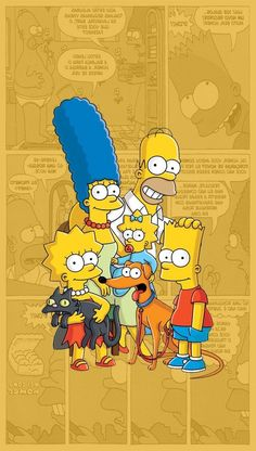 The Simpsons / Os Simpsons, Tumblr Wallpaper, Disney Wallpaper, Cartoon Wallpaper, Cool Wallpaper, Wallpaper Backgrounds, Simpson Wallpaper Iphone, Iphone Wallpaper, Lisa Simpson, Simpson Tumblr