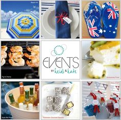 Australia Day Party and tablescape Australia Day Celebrations, Event Ideas, Party Ideas, Aboriginal Culture, Going For Gold, Anzac Day, Party Things, Bbq Party, Lets Celebrate