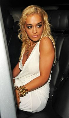 Beautiful Rita Ora after a night of partying
