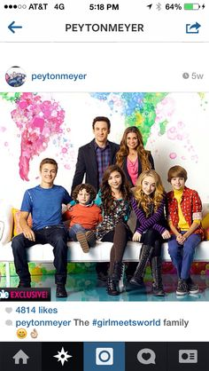 Girl Meets World! Best idea EVER. Disney don't fail me!