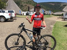 Young rider Ricardo van der Merwe takes the win in the in a time of 1 hour 6 min! Mtb, Mountain Biking, Bicycle, Events, Bicycle Kick, Bike, Bmx, Cruiser Bicycle