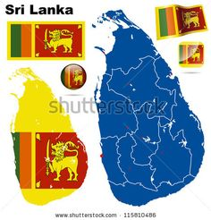 Image result for map of sri lanka and surrounding countries