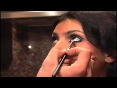 Kim Kardashian Smokey eyes tutorial 2