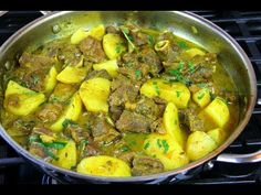 WARNING Best Jamaican Curry Goat #TastyTuesdays | CaribbeanPot.com - YouTube