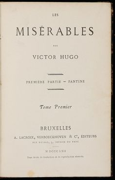 The Classics | Books | Les Miserables | Victor Hugo | Les Miz