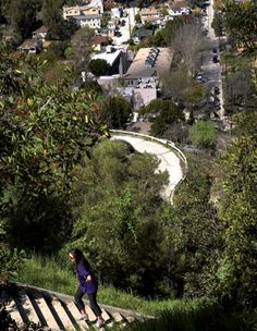 Stair Walks - Many Los Angeles neighborhoods with steep streets are laced with networks of public stairways. A guide to some of our favorites. Los Angeles Magazine
