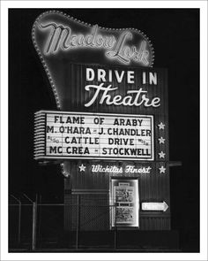 Drive in movies--where we lived there were always three features and it was $5 a car load