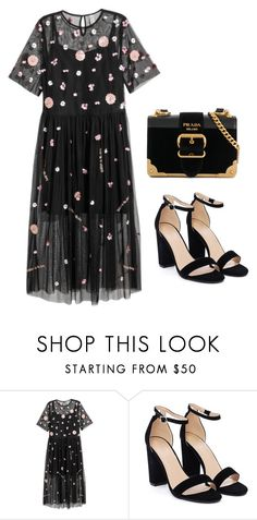 """""""Detail duty!"""" by meghanleeson on Polyvore featuring H&M, Nasty Gal and Prada"""