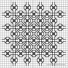 Developing Blackwork Embroidery Designs