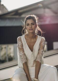 Robe de mariée Laure de Sagazan 2016 - Top Bussy et Jupe Allais 4