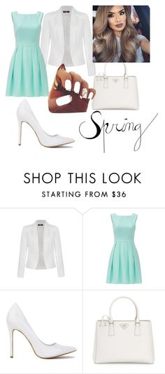 """spring"" by inasiamccullough on Polyvore featuring Ally Fashion, Kate Spade and Prada"