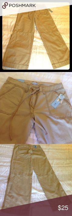 IZOD - Khakis - Size 10 NEW with tags - IZOD - Khakis - Convertible to Capris - Size 10 Izod Pants Boot Cut & Flare